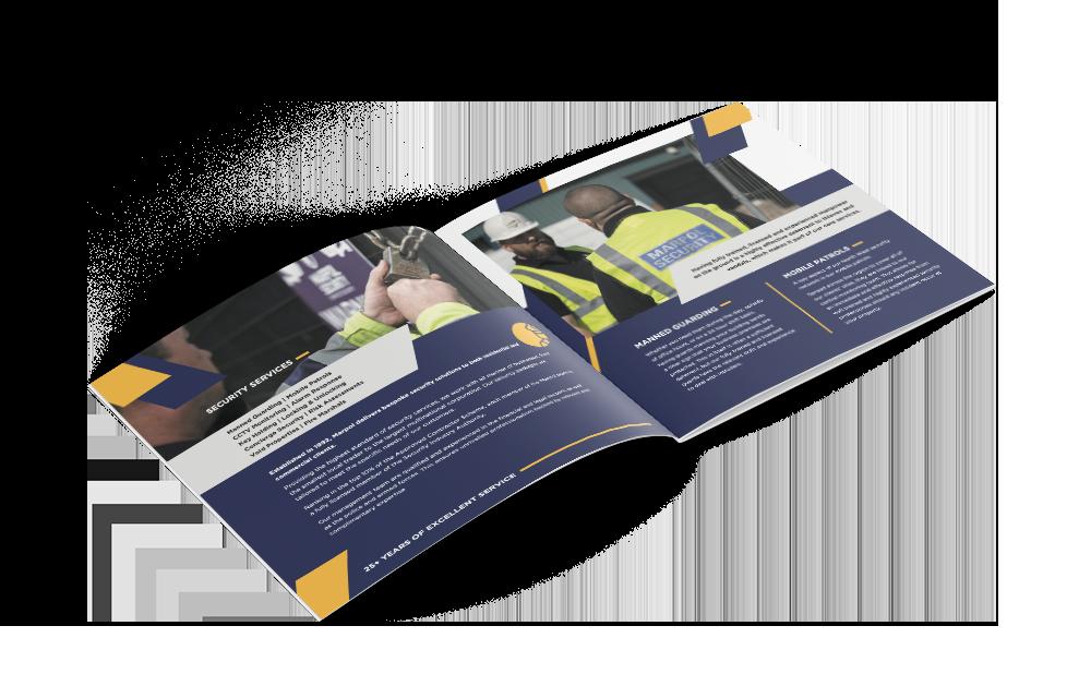 Marpol Security - Printed Brochure